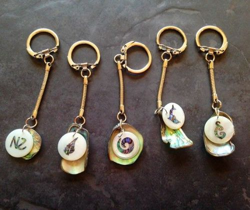Keyring - charm and shell
